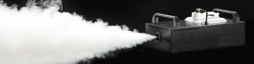 macchine fumo nebbia